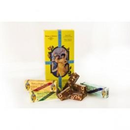 Torrone tenero cioccolato e nocciole (piccoli)