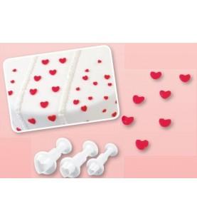 Stampi assortiti cuore