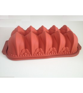 Stampo in silicone Plumcake decorato